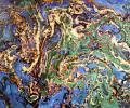 Antimonov L. Mirage, 1993, oils, mixed technique