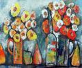 Khesin B. Autumn Flowers, 2010, canvas, oils, 80x60 cm