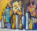 Khesin B. Flowers and Fruit, 2007, canvas, oils, 80x60 cm