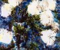 Laktaeva T. Chrysanthemum Flowers, 1985, canvas, oils