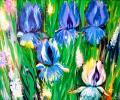 Lukyanenko V. Iris, 2004, canvas, oils