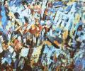Арлоў А. Віцебск. Плошча Перамогі, 1990, палатно, алей