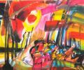 Шапо У. Над Дзвіной, 1998, папера, акварэль