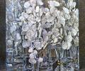 Шутаў Г. Зіма. Празрыстыя букеты. З серыі «Мелодыі пор года», 2008, папера, акварэль, 52х48 см